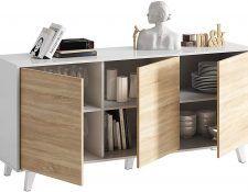 aparadores salon madera