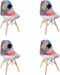 silla tapizada moderna