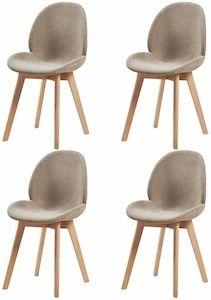 sillas tapizadas modernas para comedor