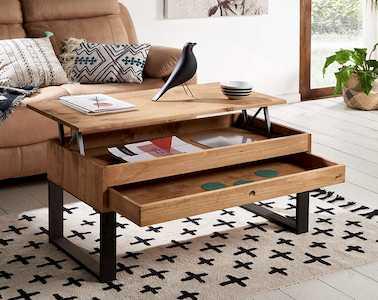 mesa de centro extensible de diseño