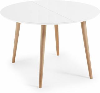 mesas de comedor redondas extensibles modernas