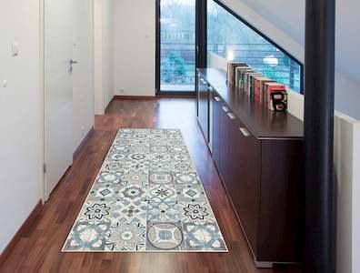 alfombra vinilica salon