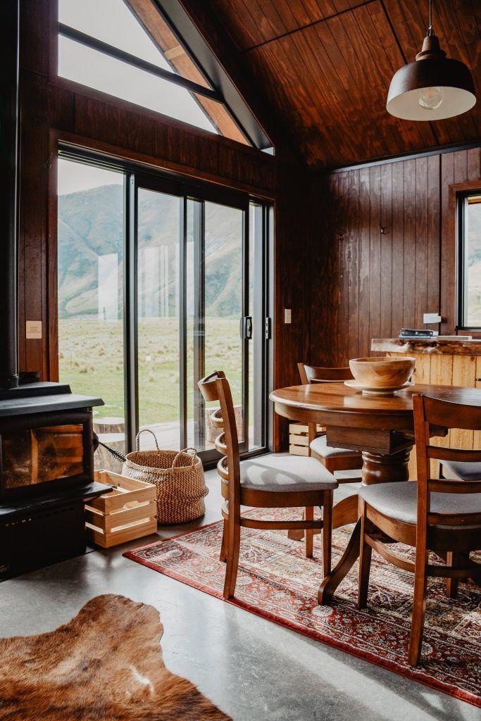 salones con chimenea rusticos