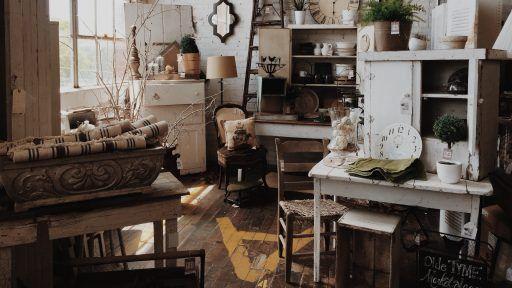 muebles salon rustico