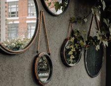espejo decorativo de pared