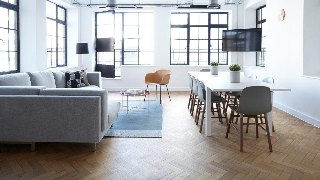 salon comedor minimalista
