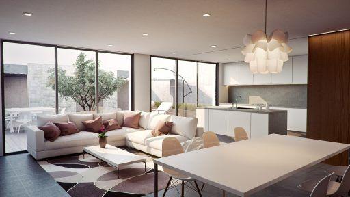 iluminacion salon sin falso techo
