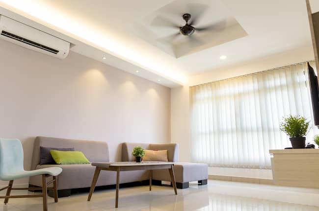 decorar salones alargados modernos