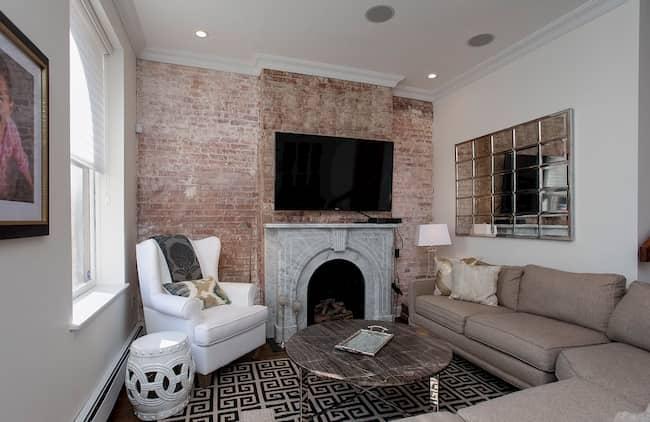 decoracion salon rectangular