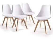 sillas blancas modernas para comedor